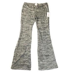 Stitch Fix Moon Gray Space Dye Bootcut Sweatpants